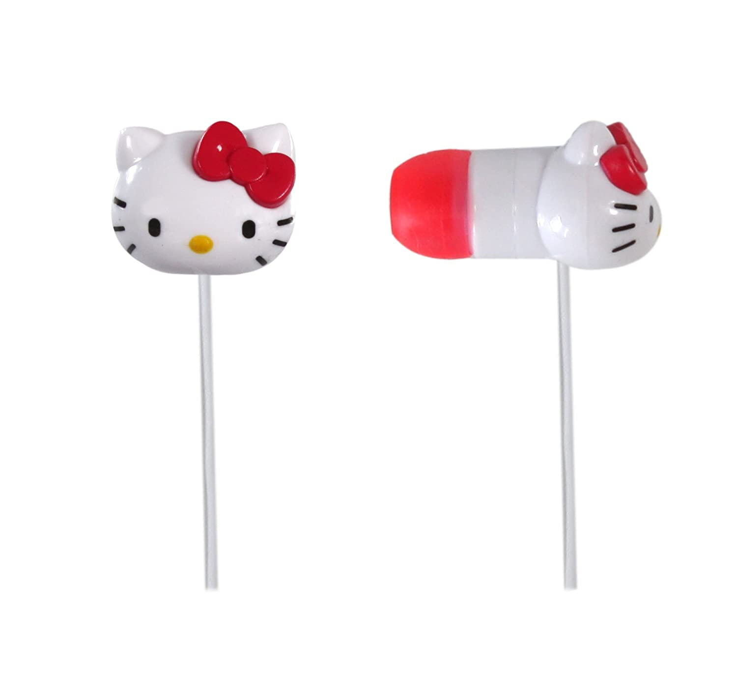 382353274d Amazon.com  Hello Kitty Earbuds - White (HK-11309)  Home Audio   Theater
