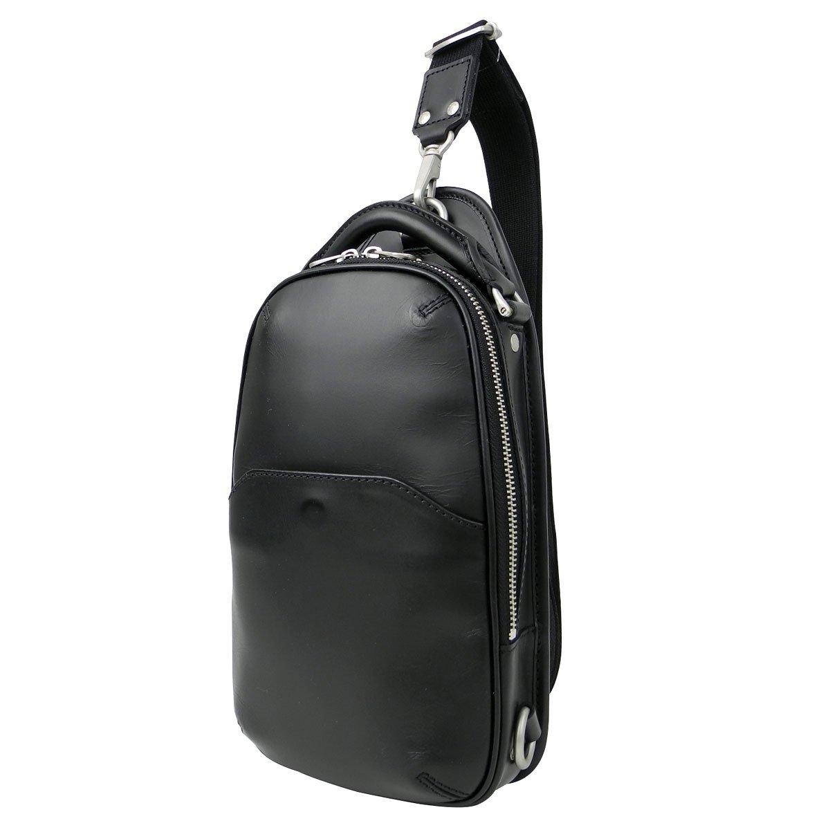 [エルゴポック] HERGOPOCH ワンショルダーバッグ ボディバッグ 06-OS B00JZBL1RQ BLACK/ブラック BLACK/ブラック