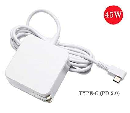 45W USB Type C AC Adapter Replacement for HP Spectre x360 13 HP Pavillion X2,Yoga 910 720 Yoga 5,Acer Travelmate B1,ASUS ZenBook 3 UX390 90,Lenovo ...