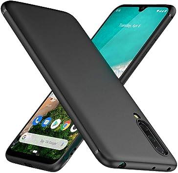 TesRank Funda Xiaomi Mi 9 Lite, Carcasa TPU Suave Fundas para Xiaomi Mi 9 Lite Flexible [Resistente a arañazos] [Ultrafina Ligero]-Negro: Amazon.es: Electrónica