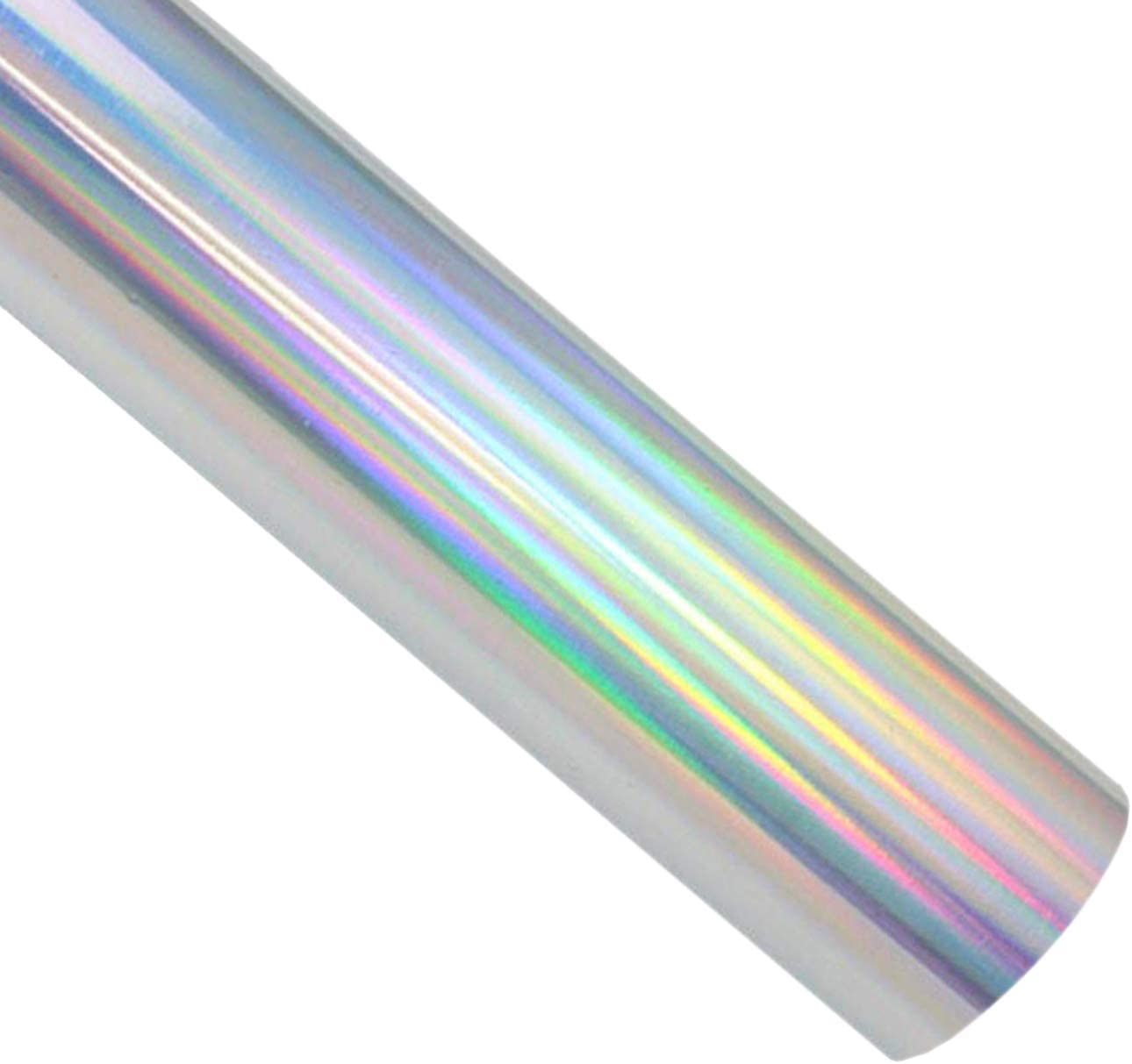 WATINC 6Pcs Glitter Heat Transfer Vinyl HTV Sheets DIY Handmade HTV Rainbow Transfer Paper Iron On Vinyl Starter Pack Silhouette Cameo HTV Heat Press Vinyl Decoratation for T-Shirts Hats Clothing
