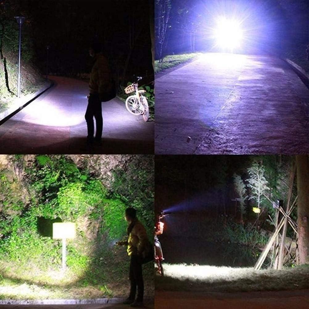 2200 mAh 3 Modos Luces de Ciclismo Stecto Juego de Luz para Bicicleta LED Recargable f/ácil de Colocar XEP T6 LED 500LM IPX6 Faro Delantero Impermeable