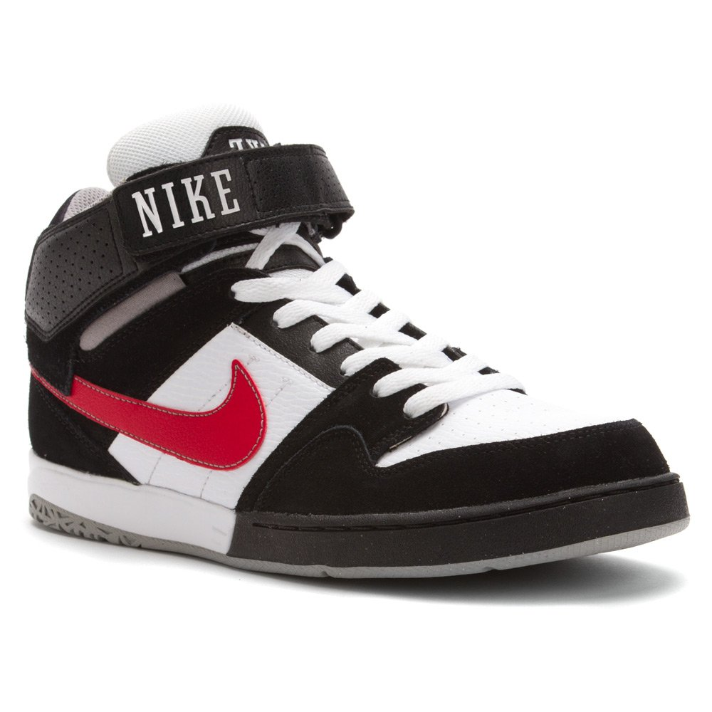 best service 5d302 e2a78 Galleon - Nike Mens Zoom Mogan Mid 2 BlackMedium GreyUniversity Red 12 M  US