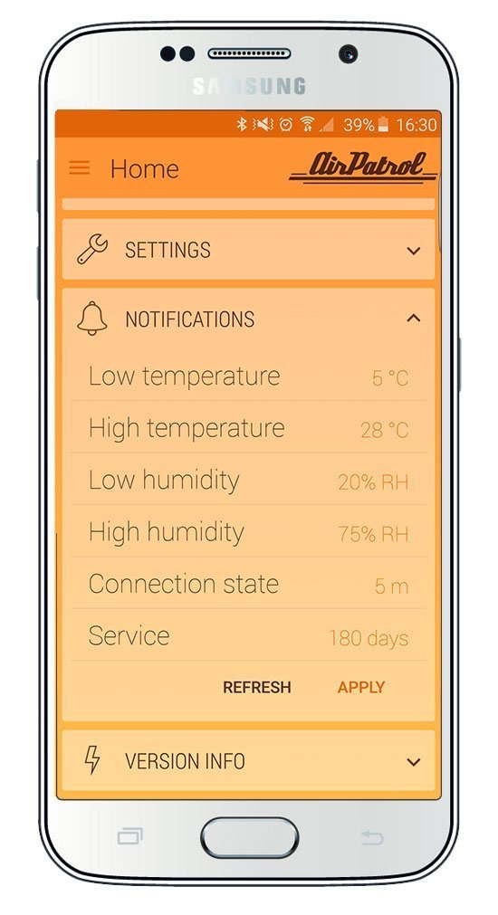 AirPatrol WiFi. Smart Air Conditioner Controller for mini-split, window or portable AC. iOS/Android Compatible, US Version, Works with Amazon Alexa with IFTTT by AirPatrol (Image #6)