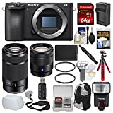 Sony Alpha A6500 4K Wi-Fi Digital Camera Body with 16-70mm f/4 & 55-210mm Lenses + 64GB Card + Backpack + Flash + Battery & Charger + Kit Review