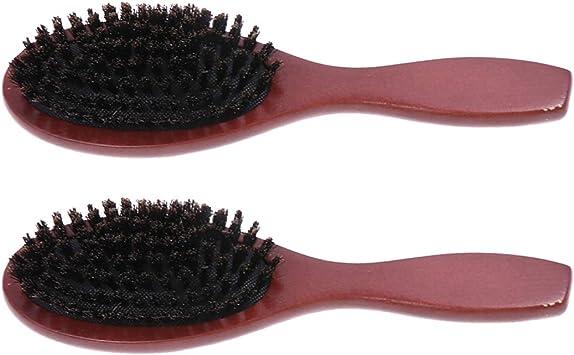 SUPVOX Pettine in legno Spazzola per capelli Pettine in legno Spazzola per capelli in legno Massaggio Pettine per capelli Spazzola in legno