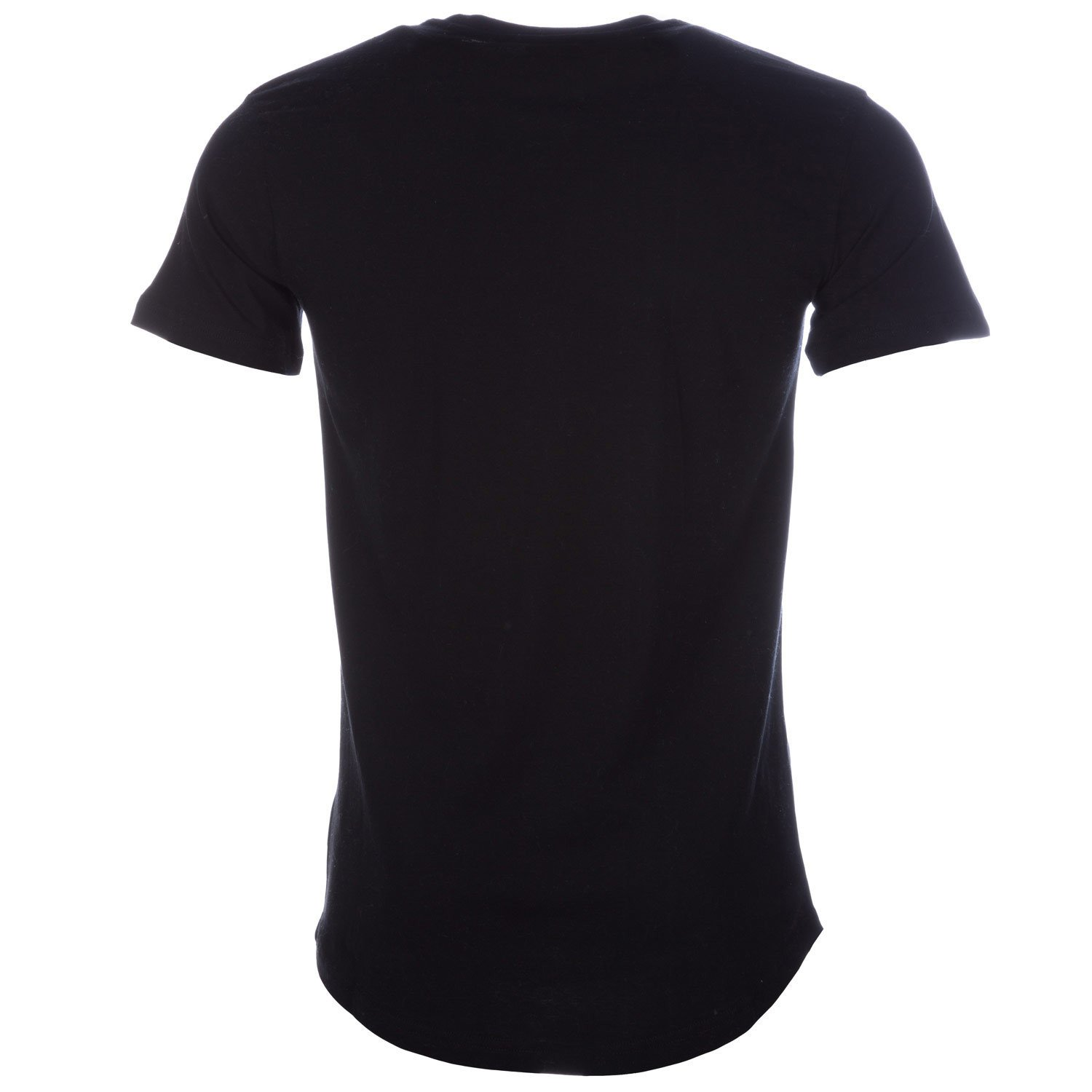 Black Beck and Hersey Mens Jersey Scoop T-Shirt
