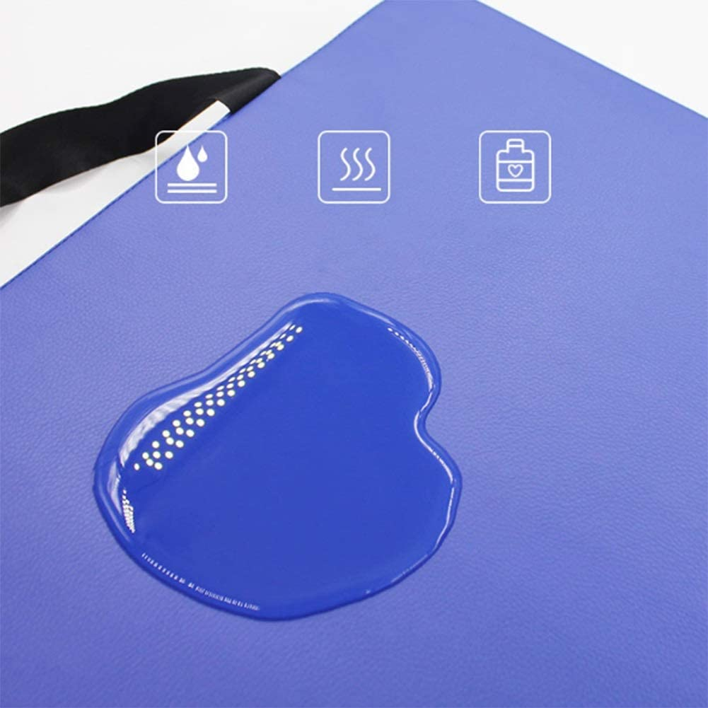 Colchoneta Gimnasia para Colegio Gimnasio PU 3 Tama/ños Estera De Yoga Antideslizante para Ejercicio Colchoneta Gimnasia LXHONG Colchoneta Plegable para Gimnasia Color : Blue, Size : 50X100X5CM