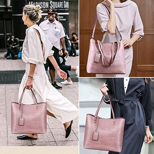 Women Top Handbags Bag Shoulder Satchel Purse Bag Tote Handle Pink Messenger n1CZrnTxw
