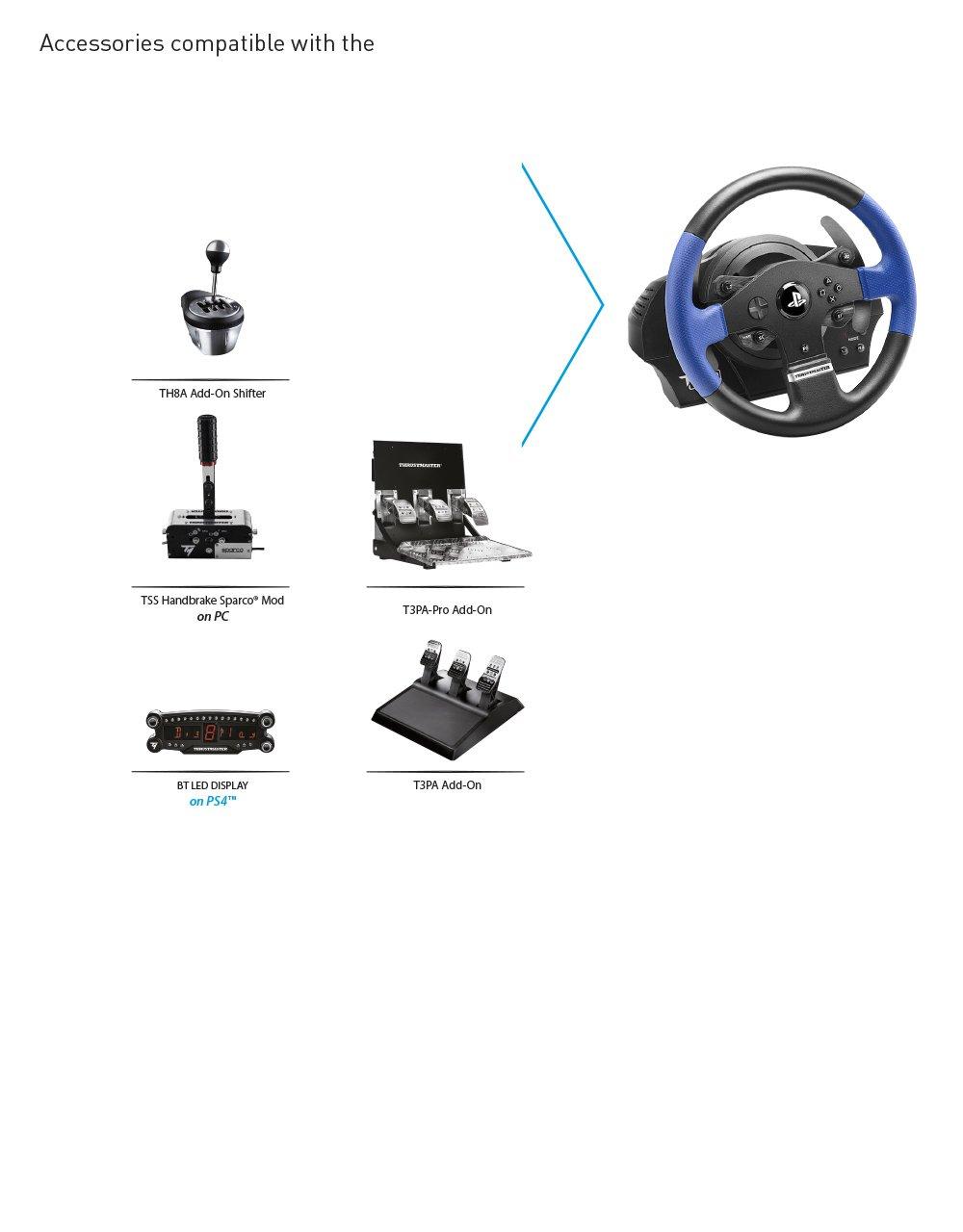Thrustmaster T150 Pro Racing Wheel Playstation 4 Amazon Tss Sequential Shifter Handbreak Sparco Yu Thch