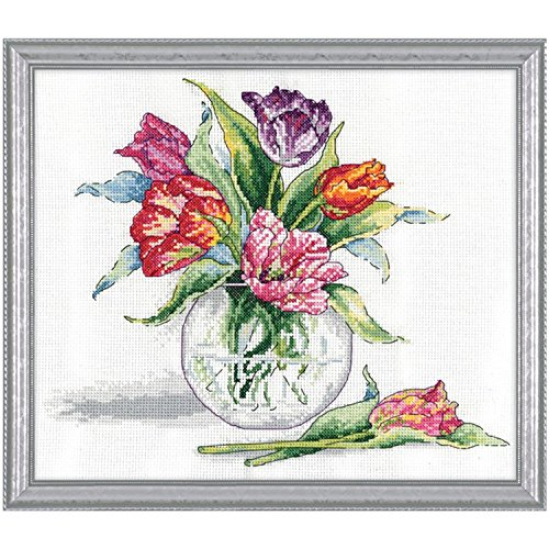 Design Works - Tulips Counted Cross Stitch Kit 2846-9 by 11