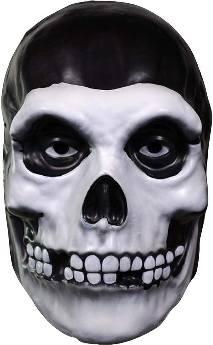 Misfits The Fiend Latex Mask Adult Skeleton Skull Face Halloween