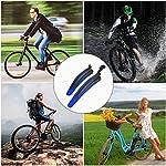 Vockvic-Parafango-Bicicletta-Universale-parafanghi-per-Biciclette-Anteriore-Posteriore-Bici-Biciclette-Set-MTB-Bici-da-Strada-Mountain-Bike-Parafango-Regolabile-per-Protezione-Schizzi-Sporco