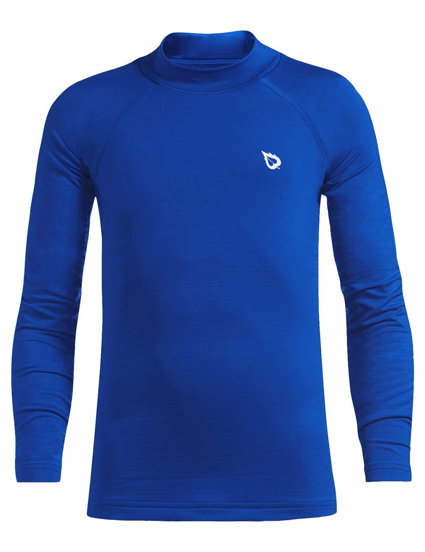 BALEAF Youth Boys' Compression Thermal Shirt Fleece