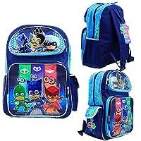"Nickelodeon PJ Masks Kids 16"" Large School Backpack Book Bag Licensed New USA"