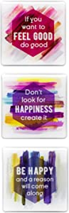 Refrigerator Magnets - Fridge Magnets With Inspiring Motivational Quotes - (1)