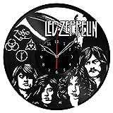 Led Zeppelin Vinyl Clock Record Wall Clock Fan Art Handmade Decor Unique Decorative Vinyl Clock12