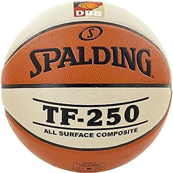 Spalding baloncesto Indoor/Outdoor pelota TF 250 DBB Logo tamaño 6 ...