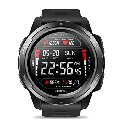 Amazon.com: Zeblaze Vibe 5 Sports Mens Smart Watch,Heart ...