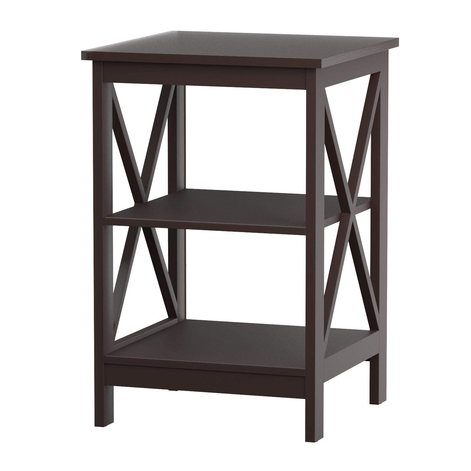 Convenience Concepts Oxford End Table, Espresso by Convenience Concepts