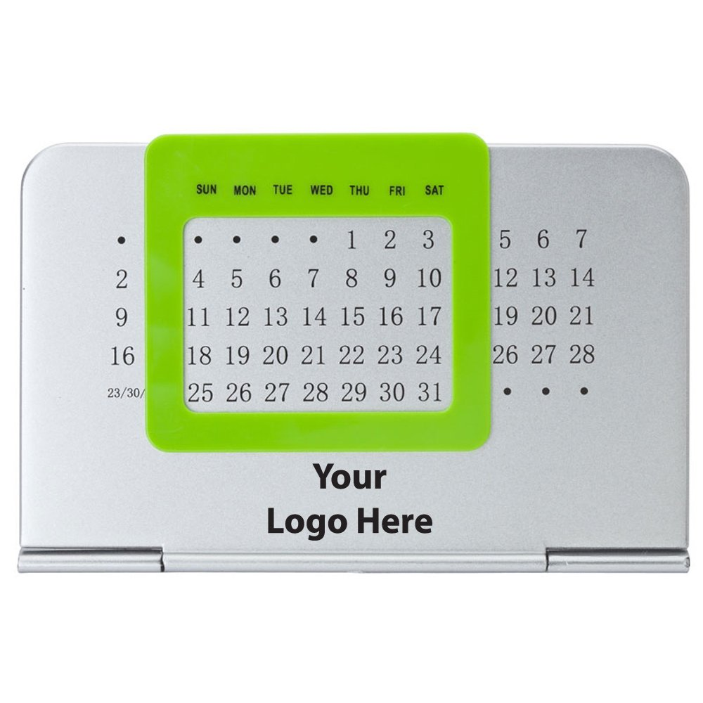 Perpetual Calendar - 250 Quantity - $2.00 Each - PROMOTIONAL PRODUCT / BULK / BRANDED with YOUR LOGO / CUSTOMIZED