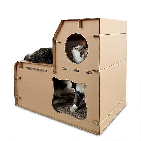 Magical Shop Prodotti Per Animali Lettiera Di Cartone Ondulato Casa