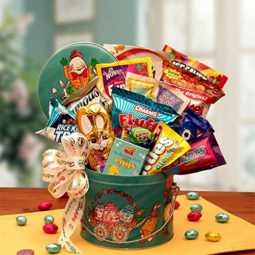 Easter baskets buy easter baskets products online in uae dubai springtime treats and sweets easter gift pail negle Image collections