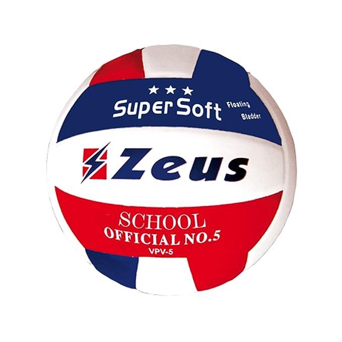 2 opinioni per Zeus Pallone da Volley School N�5 Bianco