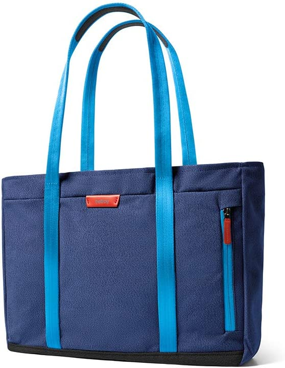 Bellroy Classic Tote (Unisex Shoulder Bag, Fits 15 Inch Laptop) - Blue Neon