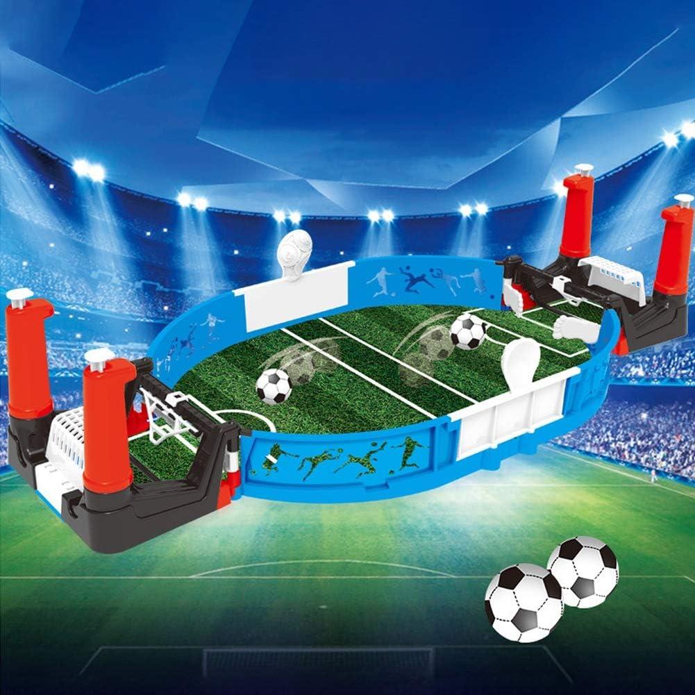 SunYueY Juguete De Juego Interactivo De Mesa De Campo De Fútbol De Fútbol Competitivo para 2 Jugadores para Niños, Juego De Regalo De Juguete Intelectual Verde: Amazon.es: Hogar