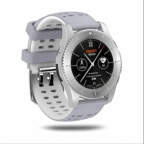 Outdoor Sport podómetro Smartwatch Fitness Barómetro Altímetro Intelligent Watch con Bluetooth Smart Watch para iOS Android
