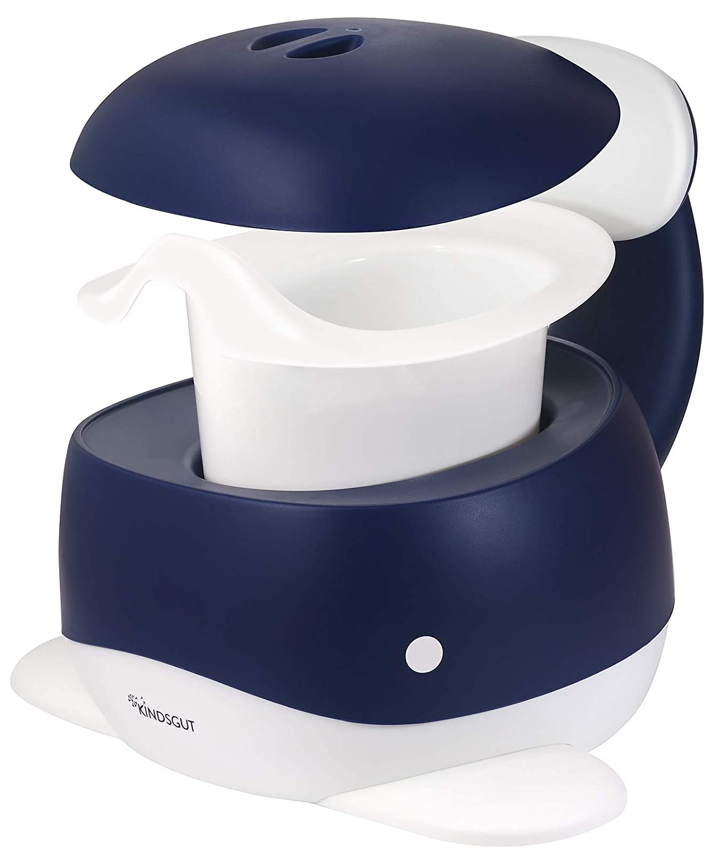 Kindsgut Pot pour b/éb/é toilette enfant pour lapprentissage de la propret/é noir