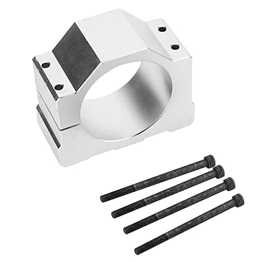 【In DE】100mm Diameter Aluminum CNC Spindle Motor Mount Bracket Clamp Tool Holder