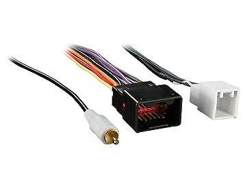Amazon.com: Metra 70-5517 Radio Wiring Harness for Ford Pre Amp Plug on pyle wiring harness, yamaha wiring harness, automotive wiring harness, midland wiring harness, scosche wiring harness, lowrance wiring harness, emerson wiring harness, tripp lite wiring harness, stinger wiring harness, eclipse wiring harness, apc wiring harness, garmin wiring harness, bose wiring harness, chevy wiring harness, jbl wiring harness, rockford fosgate wiring harness, cobra wiring harness, mitsubishi wiring harness, car wiring harness, pac wiring harness,