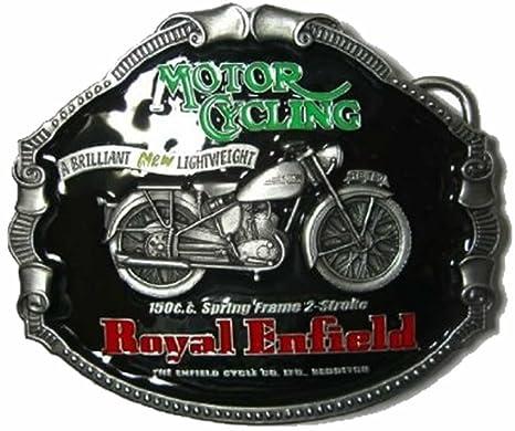 Bucklebox Royal Enfield Cinturón Hebilla + präsen Peluche ...