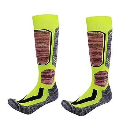 JERKKY Deportes de Invierno Calzado Grueso de algodón Calcetines de esquí Snowboard Senderismo Camping Calcetín térmico