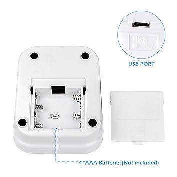 Parte superior del brazo monitor de presión arterial £ ¬ 2 usuarios modo automático monitores de frecuencia cardíaca de pulso con pantalla LCD y amplia Cuff ...