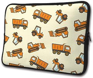 Orange Dozer Tractor Business Briefcase Laptop Sleeve Bag/Handbag 13/15 Inch