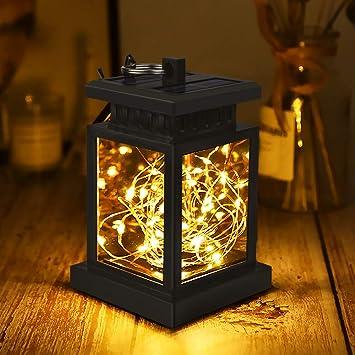 Solar Laterne Fur Aussen Led Laterne Solar Mit String Licht Solar Laterne Aussenleuchte Wasserdicht Dekoration Lampen Fur Garten Deko Terassen