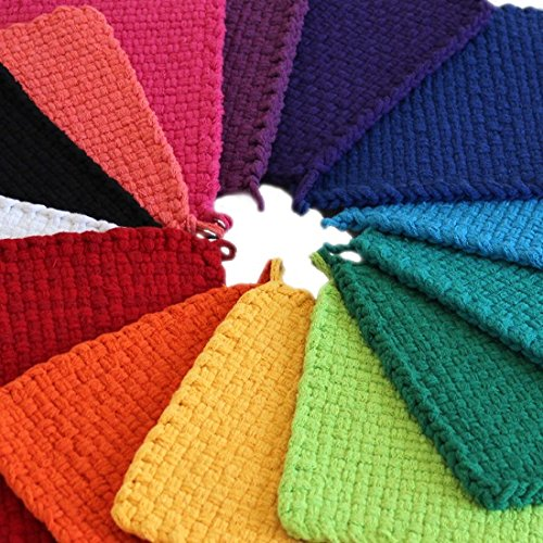 "Harrisville 10"" Pro Bright Lotta Loops in Assorted Colors – Makes 8 Potholders by Harrisville Designs (Image #1)"