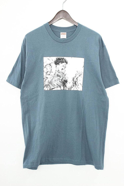 (シュプリーム) SUPREME ×アキラ 【17AW】【Arm Tee】×AKIRA フロントプリントTシャツ(L/ブルー調) 中古 B07FM8Q3HM  -