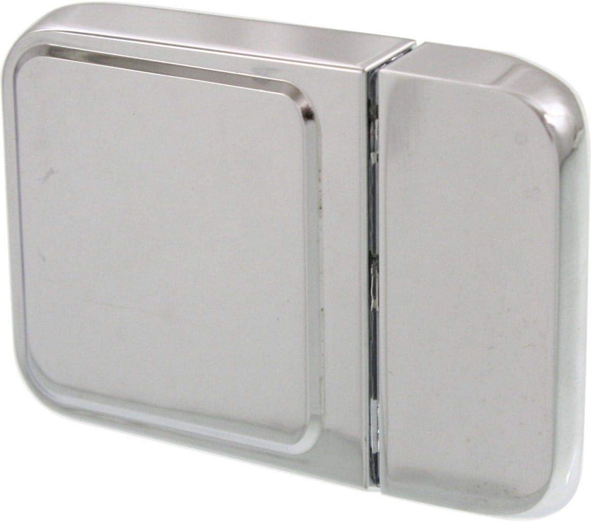 Exterior Door Handle For 90-2003 International 4900 4700 Front Chrome Metal