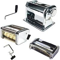 Totally Addict KU6089 Machine A PATES ET RAVIOLIS, Acier/INOX/PS, Argent, 20,1 x 20,4 x 17,4 cm