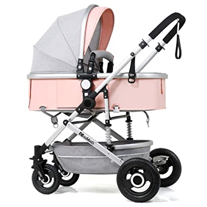 TZQ Vehículo Todoterreno 3 En 1 Cochecito SUV Amortiguador Plegable Cochecito De Bebé Ligero 0-