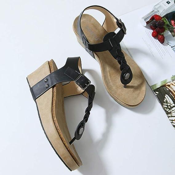 6dcaa944f192e Amazon.com: Kenvina Sandals for Women,Fashion Casual Flip Flops ...