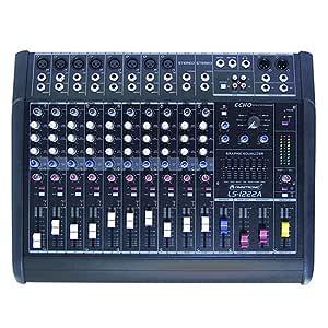 Omnitronic 10060200 LS-1222A Live-Power - Mesa de mezclas: Amazon ...