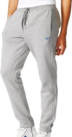 adidas para Hombre Pantalones de chándal Classic Gris Gris Talla:L