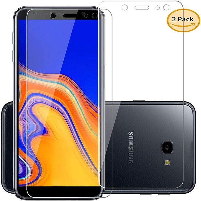 ZXLZKQ 2-Unidades Samsung Galaxy J4 Plus 2018(European Version) Pantalla Premium Film Vidrio Templado Cristal Templado Protector de Pantalla para Samsung Galaxy J4 Plus 2018(European Version): Amazon.es: Electrónica