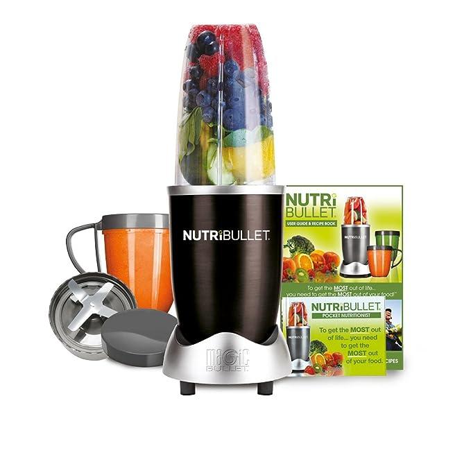 Nutri Bullet 600 Series Blender, 600 W, 8 Piece Set, Black by Nut Ri Bullet