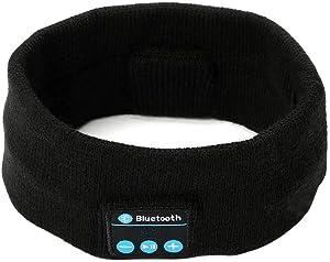 Bluetooth Sleep Headphones,INTSUN Sleeping Headphones with Bluetooth Headband,Ultra-Thin HD Unisex Wireless Sport Headset for Working Out, Exercising, Yoga, Skating, Hiking, Air Travel